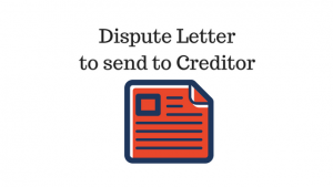 Dispute Letter to send to Creditor-2